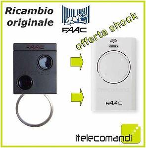 radiocomando telecomando originale faac xt2 868 slh. Black Bedroom Furniture Sets. Home Design Ideas