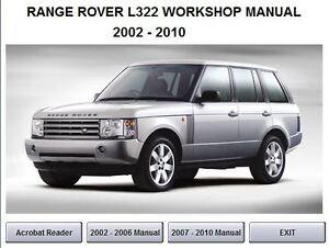 land rover range rover repair manual ebay autos post. Black Bedroom Furniture Sets. Home Design Ideas