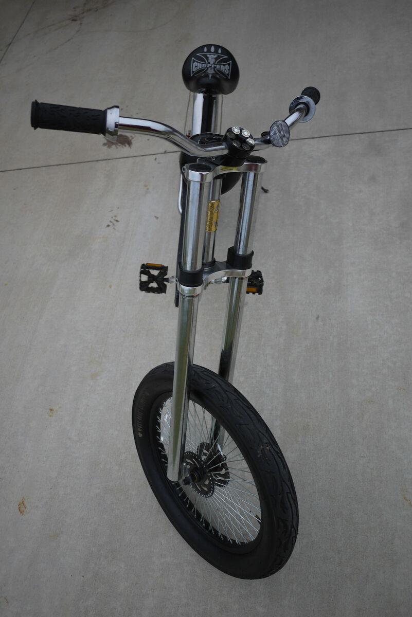 RARE Chrome Frame Jesse James West Coast Choppers Bicycle