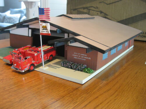 RARE Code 3 Collectable LA fire station from Emergency! in Toys & Hobbies, Diecast & Toy Vehicles, Cars, Trucks & Vans | eBay
