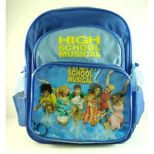 disney high school musical blue 13 quot school backpack