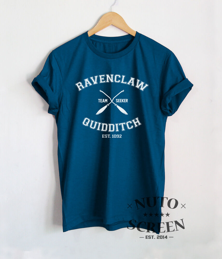 42f71e41971 RAVENCLAW QUIDDITCH SHIRT TEAM T SHIRT HARRY POTTER CLOTHING TEE ...