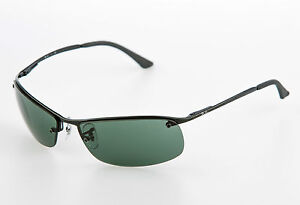 RAY-BAN-RB-3183-006-71-Gr-63-TOP-BAR-SONNENBRILLE-NEU-OPTIKERFACHGESCHAFT
