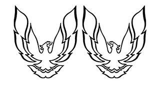 Rc Airbrush Stencils Paint Mask Fire Bird Not Reuseable Ebay