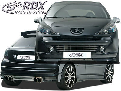 rdx bodykit peugeot 207 207 cc spoiler set tuning abs on. Black Bedroom Furniture Sets. Home Design Ideas