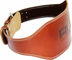 rdx weight lifting 6 quot non padded nubuck leather belt back