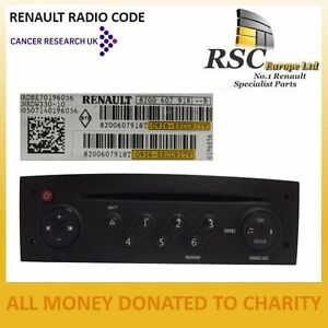 renault radio code tuner list update list clio megane. Black Bedroom Furniture Sets. Home Design Ideas