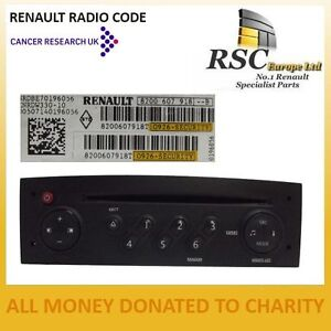 renault radio code tuner list update list clio megane laguna scenic twingo ebay. Black Bedroom Furniture Sets. Home Design Ideas