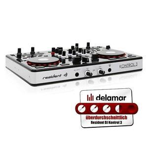 RESIDENT-DJ-USB-MIDI-CONTROLLER-STUDIO-MIXER-AUDIO-INTERFACE-MISCHPULT-KONSOLE