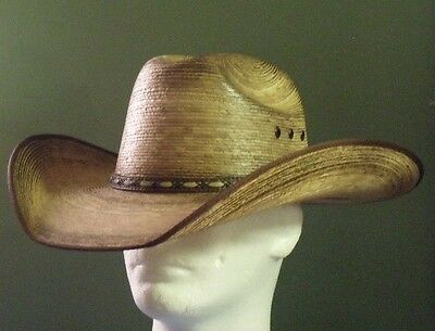 c6720d63ee94f Resistol Jason Aldean Amarillo Sky Palm Cowboy Western Hat on PopScreen