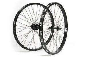 Wheel 24 cruiser inch set wheels black front fit s amp m bmx 24 quot se ebay