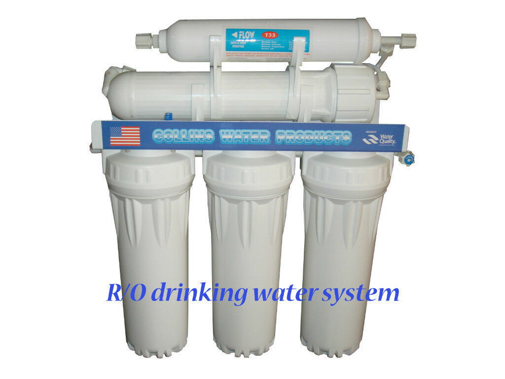 Undersink Reverse Osmosis Drinking Water System Ebay