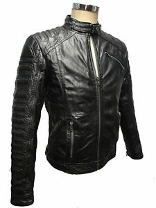 rey ricano herren echt lederjacke jacke biker b ffel glatt. Black Bedroom Furniture Sets. Home Design Ideas