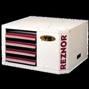 Reznor Udas 30 Natural Gas Unit Heater Separated