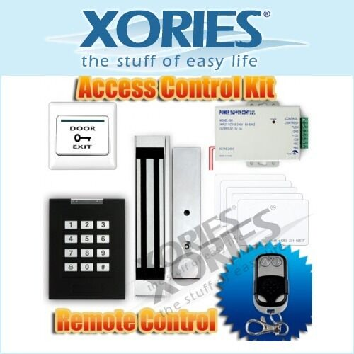 RFID Door Access Control System Kit +280KG Magnetic Lock +Remote Control NEW in Consumer Electronics, Home Automation, Intercoms & Access Controls | eBay