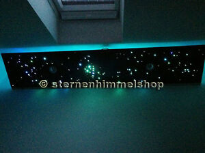 rgb led sternenhimmel 16 w 16 farben 380 lichtfaser glasfaser optik dimmbar neu ebay. Black Bedroom Furniture Sets. Home Design Ideas