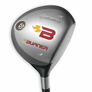 RH TAYLORMADE BURNER 2008 3 WOOD 15º STIFF FLEX NEW in Sporting Goods, Golf, Clubs | eBay