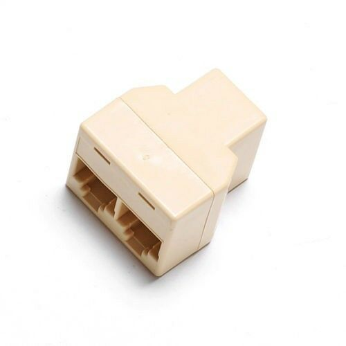 rj45 y adapter kupplung splitter verteiler coupler. Black Bedroom Furniture Sets. Home Design Ideas
