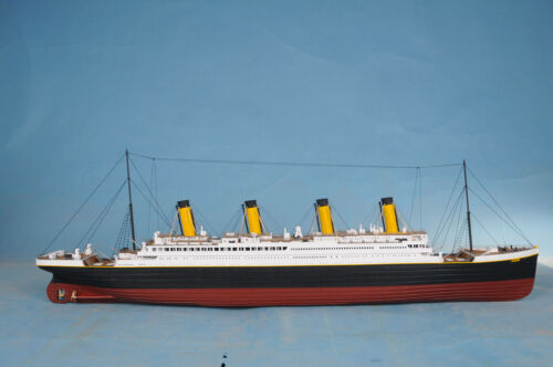 "RMS Titanic 40"" High Quality Limited Edition Ocean Liner Wooden Ship Model in Antiques, Maritime, Model Ships 