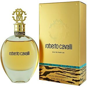 roberto cavalli eau de parfum edp 50ml spray for her brand. Black Bedroom Furniture Sets. Home Design Ideas