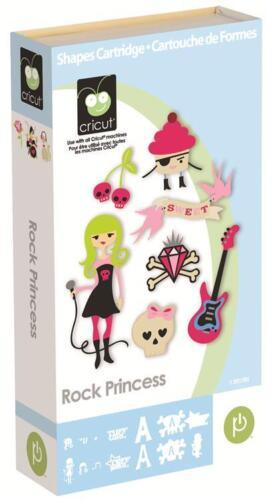 ROCK PRINCESS Cricut Cartridge (Crowns, Skulls, Guitars & More!!!) in Crafts, Scrapbooking & Paper Crafts, Scrapbooking Tools | eBay
