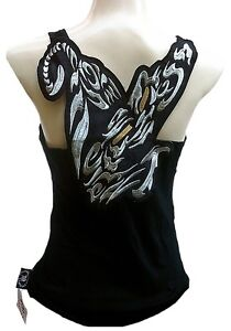 ROCKABILLY-PUNK-ROCK-BABY-Silver-Tattoo-Panther-TANK-TOP-SHIRT-XS-S-M-L-XL-WoW