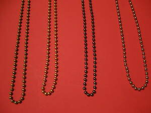 a diy continuous loop beaded chain for bath