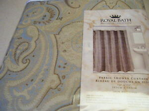 Brown And Aqua Shower Curtain: Price Finder - Calibex