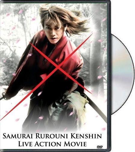 RUROUNI KENSHIN Live Action Movie DVD W/EngLisH Subtitle