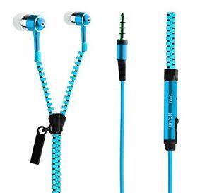 rv blau rei verschluss in ear kopfh rer zipper headset. Black Bedroom Furniture Sets. Home Design Ideas