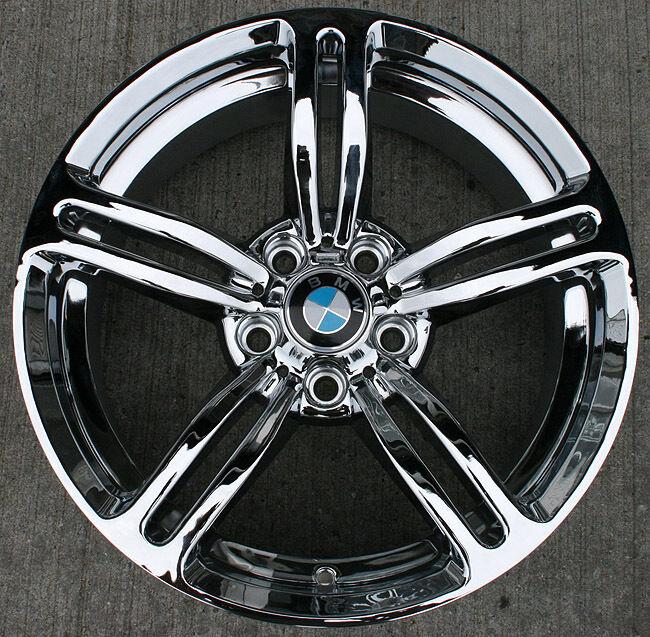RVM B18 18 Chrome Rims Wheels BMW E38 E65 7 Series 18 x 8 0 5H 20