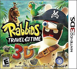Rabbids Travel in Time 3D  (Nintendo 3DS...