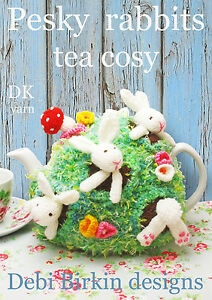 Chocolate Christmas Pudding Tea Cosy Cozy Knitting Pattern