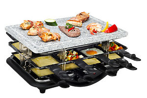 raclettegrill 16 er nouvel swiss doppio hot stone die raclette inovation 2011. Black Bedroom Furniture Sets. Home Design Ideas