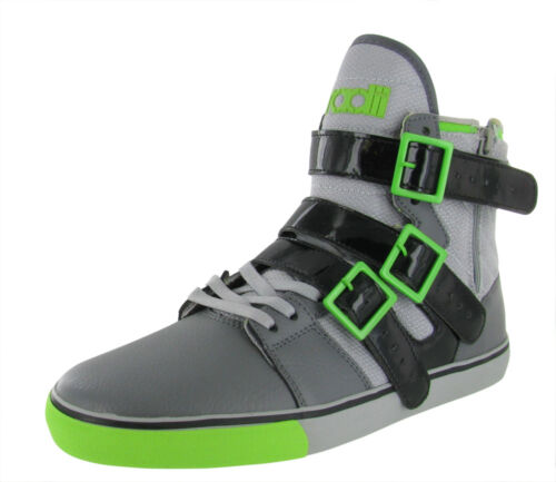Radii Straight Jacket Vlc Men's High Top Shoes Sneakers Grey $95 Size 11 in Clothing, Shoes & Accessories, Men's Shoes, Athletic | eBay