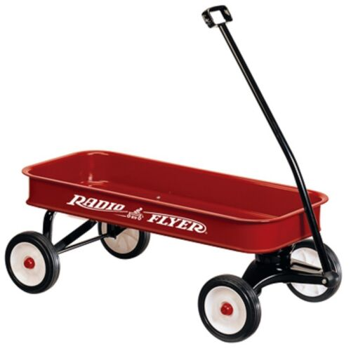 Radio Flyer 34-Inch Full Size Red Steel Promotional Wagon with Extra Long Handle in Toys & Hobbies, Outdoor Toys & Structures, Ride-Ons & Tricycles | eBay