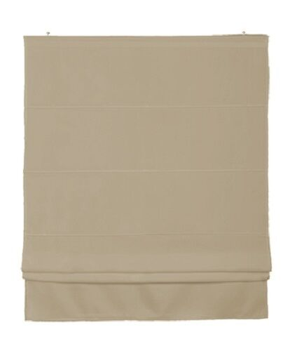 Raffrollo rollo sand beige halbtransparent 5 gr 60 80 100 for Raffrollo beige