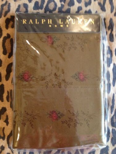 Ralph Lauren FORMAL GARDEN King Pillowcases, NIP, goes w/Guinevere, Galahad in Home & Garden, Bedding, Sheets & Pillowcases | eBay