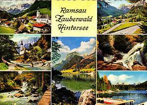 Ramsau-Zauberwald-Hintersee-Ansichtskarte-1966-gelaufen