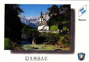 Ramsau-ungelaufene-Ansichtskarte