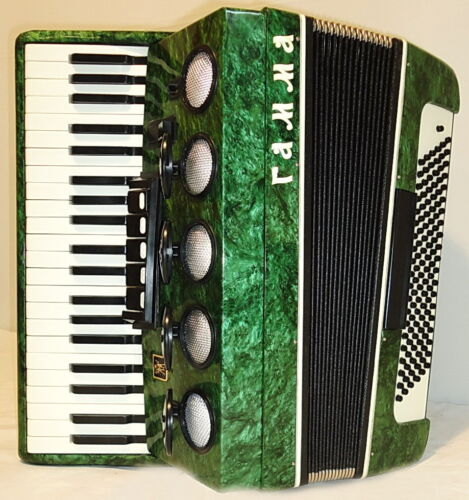 Rare Nice Russian Piano ACCORDION GAMMA ГАММА 120 bass 5/2 sw. Beautiful Sound! in Musical Instruments & Gear, Accordion & Concertina | eBay