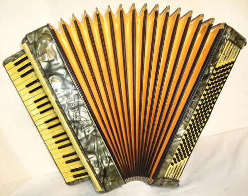 Rare Old Vintage German Accordion Hohner Verdi III B 120 bass, Excellent sound ! in Musical Instruments & Gear, Accordion & Concertina | eBay