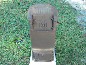 Rare vintage warm morning stove coal wood heater model 414 a good on