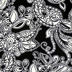 rasch tapete love 136844 vliestapete schwarz wei paisley. Black Bedroom Furniture Sets. Home Design Ideas