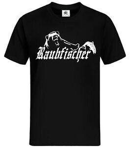 Raubfischer T shirt Fun Shirt lustig sprüche witzig Angel
