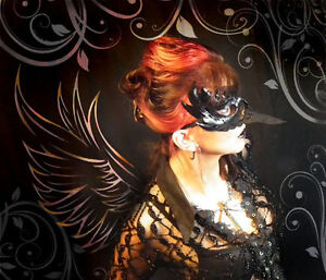 Raven-narrow-beak-Handmade-Leather-Mask-Venetian-Masquerade