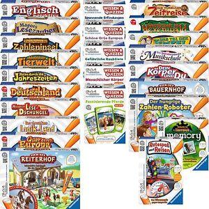 Ravensburger-TIPTOI-Spiele-Lernspiel-Lernspiele-Spiel-nach-Wahl-AUSWAHL