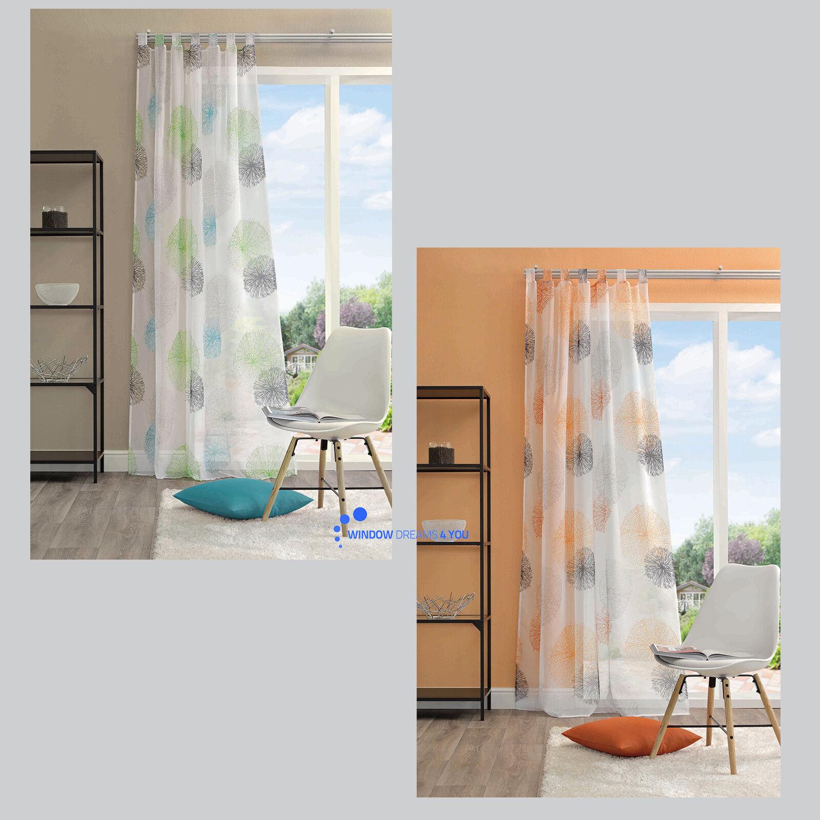 rawlins kreise schlaufenschal gardine vorhang. Black Bedroom Furniture Sets. Home Design Ideas