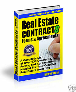 Real Estate Contracts, Forms & Agreements For Investing in Everything Else, Career Development & Education, Real Estate | eBay