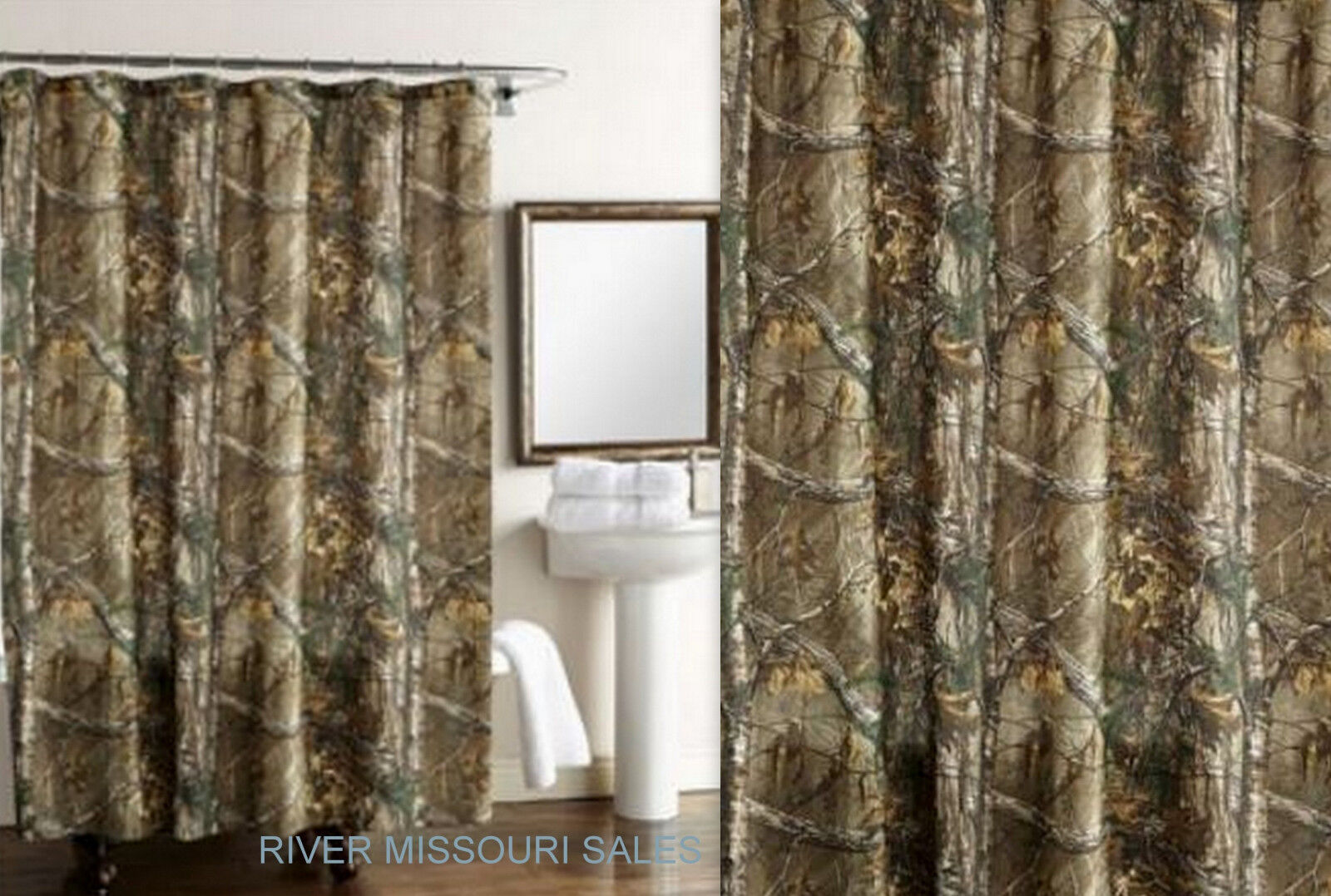 Camouflage Shower Curtains Camo Oak Shower Curtain Forest Trees Camo Camouflage Shower